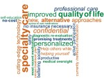 wordle infographic clinical trials